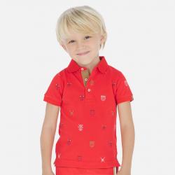 MAYORAL chlapčenska polokošeľa 3152-048 Hibiscus