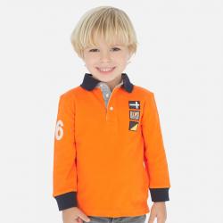 MAYORAL chlapčenská polokošeľa 3160-056 Carrot