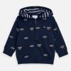 MAYORAL modrá chlapčenská mikina 3446-011