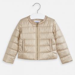 MAYORAL prešívaný dievčenský kabát 3472-050 Gold
