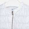 MAYORAL prešívaný dievčenský kabát 3472-051 Wh