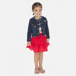 MAYORAL červená sukňa 3904-074 Red