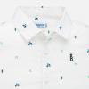 MAYORAL biela chlapčenská košeľa 1166-038