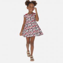 MAYORAL dievčenské šaty 3940-003 Red