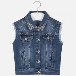 MAYORAL rifľová dievčenská vesta 6315-091 basic