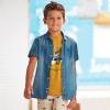 Chlapčenská rifľová košeľa MAYORAL 6150-005 denim