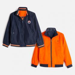 MAYORAL  chlapčenská bunda obojstranná 6449-084 ocean