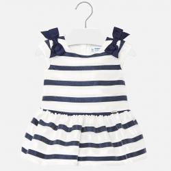 MAYORAL dievčenské pásikavé šaty1908-038