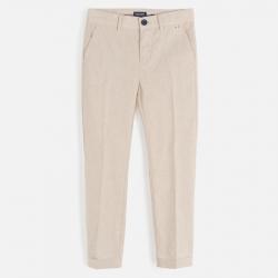 MAYORAL chlapčenské nohavice 6518-070 parchment