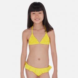 Dvojdielne dievčenské plavky MAYORAL 6721-014 yellow