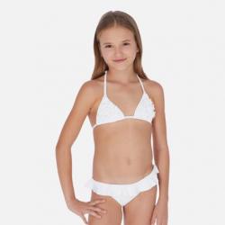 Dvojdielne dievčenské plavky MAYORAL 6721-016 white
