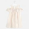 MAYORAL  dievčenské letné  šaty 6964-043 sand