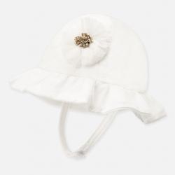 MAYORAL letný klobúk 9256-057 natural