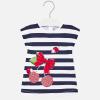 MAYORAL dievčenské pásikavé šaty 1943-041