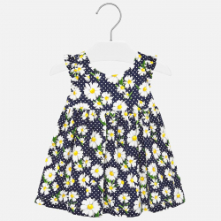 MAYORAL dievčenské vzorované šaty 1945-068