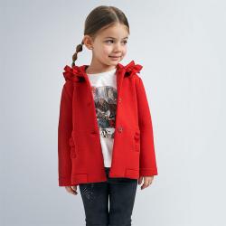 MAYORAL bavlnený prechodný kabátik 4405-010 red
