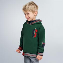 MAYORAL chlapčenská mikina 4462-036 green