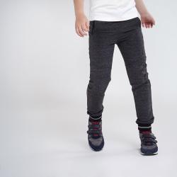 MAYORAL šedé športové nohavice-tepláky 7529-016 asphalt