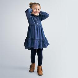 MAYORAL dievčenské rifľové šaty 4980-005 denim