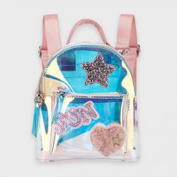MAYORAL dievčenský lesklý batoh 10922-030 pink