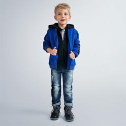 MAYORAL chlapčenská modrá mikina 4482-044 azul