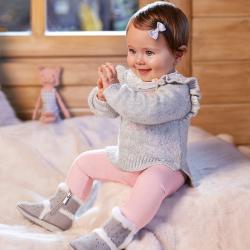 MAYORAL teplé dievčenské nohavice 2589-095