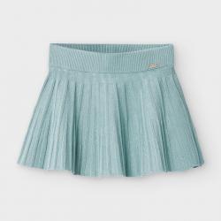MAYORAL tyrkysová skladaná sukňa 2938-055