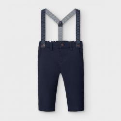 MAYORAL chlapčenské nohavice s trakmi 2575-082