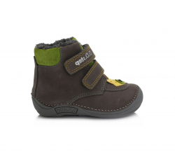 Chlapčenská BAREFOOT obuv D.D.STEP 018-814A Grey