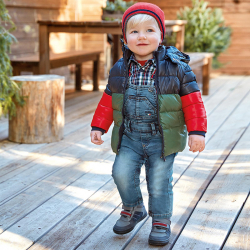 MAYORAL chlapčenské nohavice s trakmi 2655-064