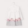 MAYORAL dievčenské šaty bieloružové 2946-058
