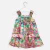 MAYORAL dievčenské vzorované šaty 3955-007