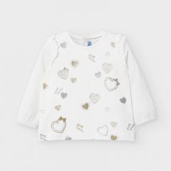 MAYORAL dlhorukávové tričko 2056-020