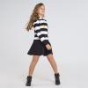 MAYORAL dievčenské šaty tunika 7976-010 black