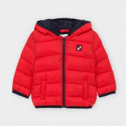 Chlapčenský prešívaný kabát  na zips MAYORAL 2487-065 red