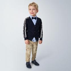 MAYORAL chlapčenské nohavice s vačkami 4534-024