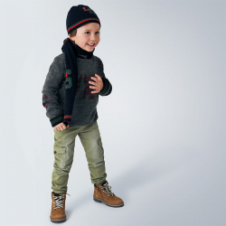 MAYORAL chlapčenské nohavice s vačkami 4534-025