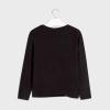 MAYORAL dlhorukávové tričko 7077-081-black