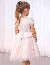 Luxusné romantické ružové dievčenské šaty ABEL&LULA