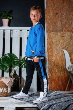 Chlapčenské bavlnené  nohavice  - tepláky
