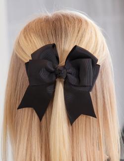 Dievčenská spona do vlasov ABEL&LULA 5417-095 black