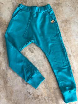 Detské bavlnené nohavice tepláky