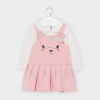 MAYORAL dievčenské šaty 2966-079 rosa