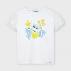 MAYORAL dievčenské tričko s krátkym rukávom 3001-015