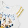 MAYORAL dievčenské tričko bez rukávov 3023-042 natural