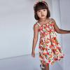 MAYORAL melónikové dievčenské šaty s čelenkou 3954-076