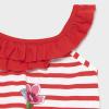 MAYORAL letné šaty na ramienka 1992-091 poppy