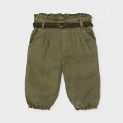 Casual dievčenské nohavice MAYORAL 1576-055 moss