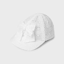 Dievčenská šiltovka MAYORAL 10020-051 white