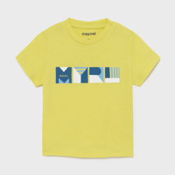 MAYORAL basic chlapčenské tričko 106-074 lime